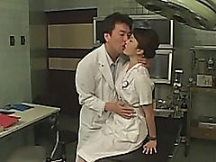 Cosplay takes place in a hospital. Everybody wants to bang a pretty asian doll patient. They nail her poon with sex toys, perform exciting bust until she's totally exhausted