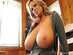 Dilettante mamma Kelly Madison cabin heat