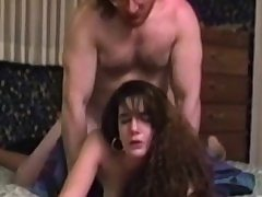 Old stud romps youthful pussy doggystyle