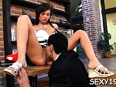 Kinky from behind banging from lustful mature teacher
