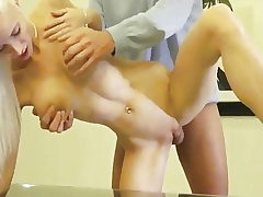 Lucky Dude Picked Up Big-chested Blonde And Fucked Her Pussy