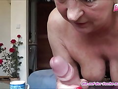german older mature lady screws youthfull neighbor - amateur