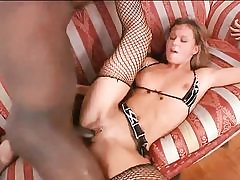 Horny blond hottie gets smashed by bbc