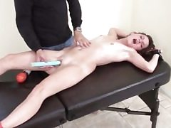 Younger tart slut gets kittled in bondage