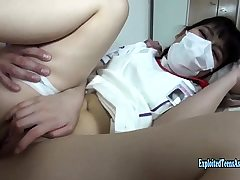 Jav Fledgling Costume play Nurse Ishimori Fucks Uncensored
