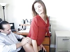 Horny dude is spreading her ass fuck-hole broad and is gobbling it out